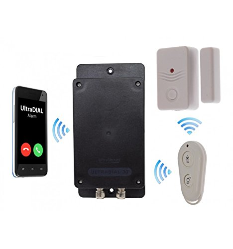 Covert Battery Silent 3G GSM Ultradial Door Alarm (No Sim Card)