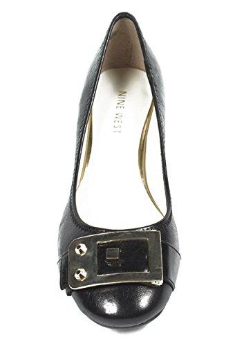 NINE WEST - Bailarina Zapatos De Tacón Para Mujer NWUPGRADEYA BLACK Tacón: 2.5 cm