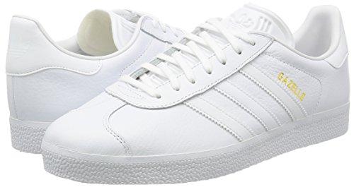 White White Deporte Ftwr Gazelle Gold Ftwr Unisex Originals Adulto Metallic Blanco adidas de Zapatillas fpxUw