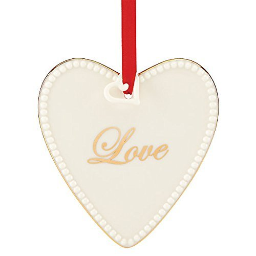 Lenox Heart (Lenox Expressions from the Heart Love Ornament)