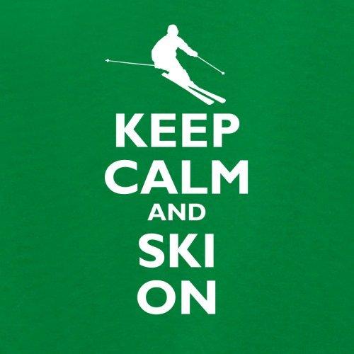 Keep Calm and Ski On - Unisex Sweat/Pull - 12 Couleur: Amazon.fr: Vêtements  et accessoires