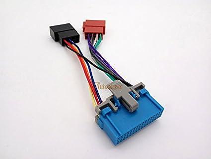 Amazon.com: Autostereo Car ISO Lead Wiring Loom, Power Adaptor ... on