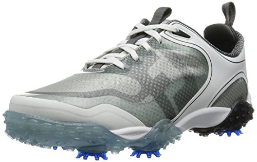FootJoy Freestyle Mens Golf Shoe (Previous Season) - White/Grey/Blue (11 D(M) US) from FootJoy