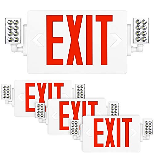 Hykolity Red Exit Sign