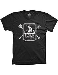 Floki's Shipyard Funny Viking Builder Shirt Graphic Floki Tshirt Black
