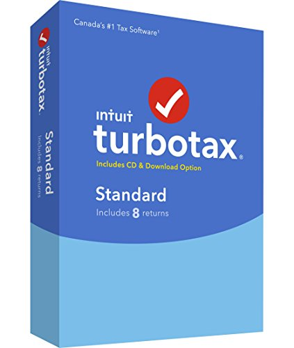 TurboTax |ImpotRapide Standard De Luxe 2016, Bilingual 2016 (8-Users)