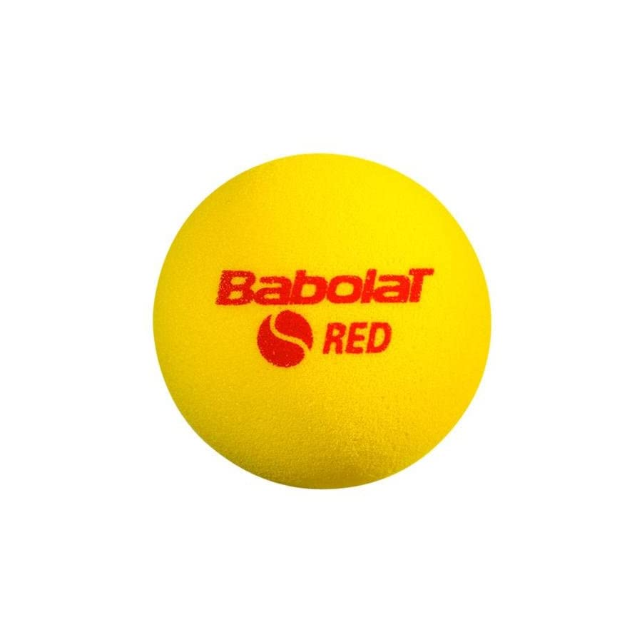 BABOLAT B516004 Play And Stay Red Foam 24 Count Bag Tennis Balls