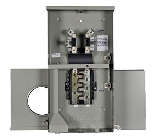 Meter Breaker Panel (Siemens MC0606L1200R Meter-Load Center Combination, 12 Space, 6 Circuit, 200-Amp and Main Lug)