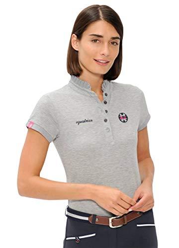 Sport Polo Viola Gris Femme Fille Chemise Manches Courtes Spooks Xxl D'été Enfant Ajustée 0qdwEvP