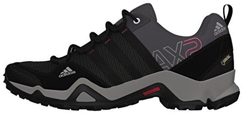 adidas AX2 GTX, Damen Trekking- & Wanderhalbschuhe, Grau (Carbon S14/Black 1/Bahia Pink S14), 39 1/3 EU (6 Damen UK)