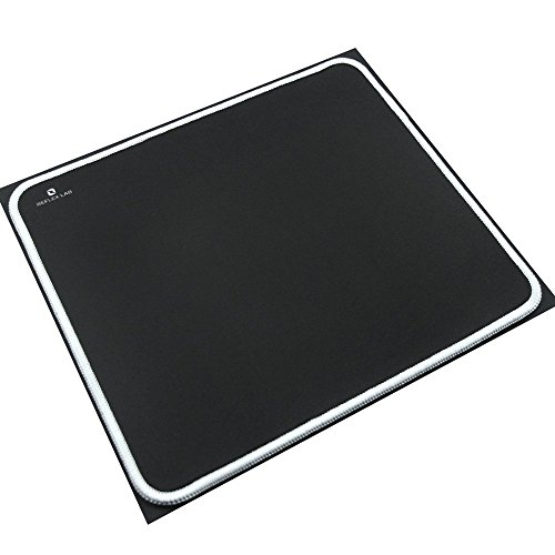 41OVRUfoIBL - Reflex-Lab-Mouse-Pad-Mat-White-Stitched-Edges-Waterproof-Ultra-Thick-3mm-Silky-Smooth-9x8-Mousepad