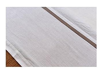 wei/ß mit Paspel sand Jollein 008-511-64885 Laken 75 x 100 cm