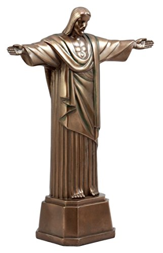 Ebros Gift Christ The Redeemer Statue Of Jesus Brazil Corocovado Mountain Landmark Figurine 11.5
