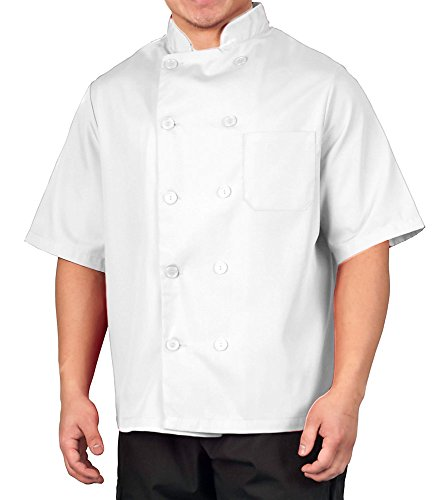 short sleeved chef coat - 4