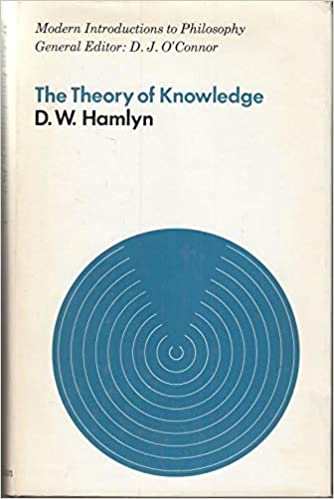 Theory of Knowledge (Modern Introductions to Philosophy