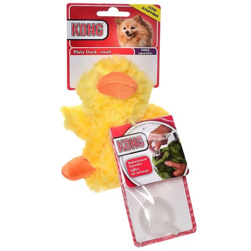 KONG Low Stuffing with Squeaker dog Toy Small