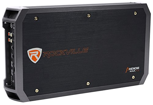 New Rockville RXA-T2 2400 Watt Peak/1250w RMS 2 Channel Amplifier Car Stereo Amp - Ic Dual Audio Preamp