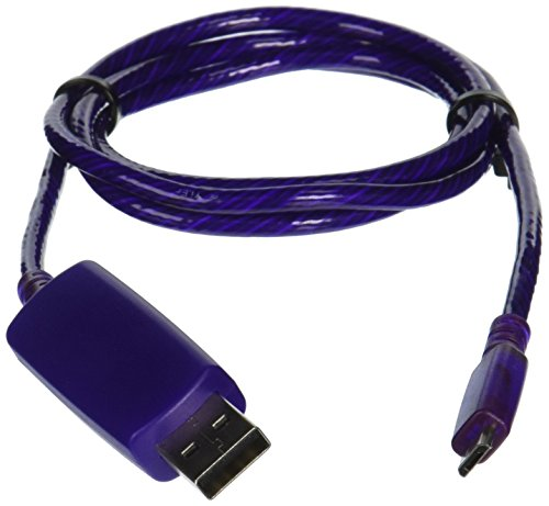 Pilot Electronics EL V2 Micro USB, PurP Power Cable (EL-1400PU)