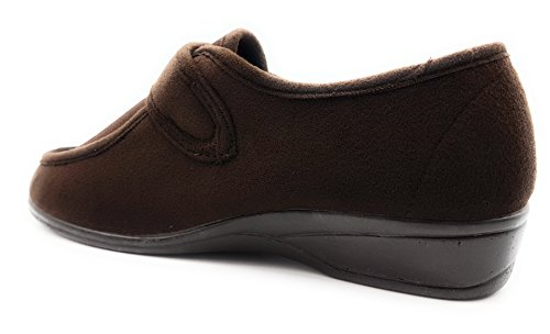 Velcro Lycra nbsp;chaussure En 771 Bleu Avec Femme Doctor Marron Pour Cutillas Marine qRwxHYAIU