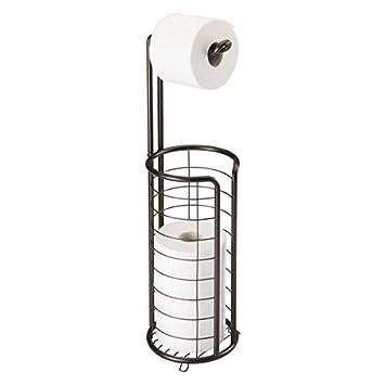 Elegant MDesign Toilettenpapierhalter Stehend   Moderner Papierrollenhalter Fürs  Badezimmer   Rostfreier Klopapierhalter Mit Stil   Bronze