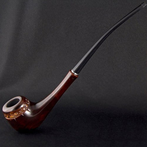Long-Carved-Tobacco-Smoking-Pipe-Stone-Arch-Pipes-79-20cm