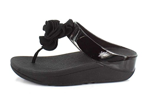 Brevet Florrie Fitflop Femmes Toe-Post Sandals - Noir