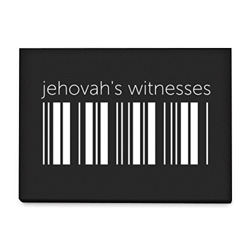 Idakoos - Jehovah's Witnesses barcode - Religions - Canvas Wall