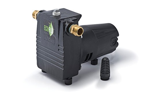 ECO-FLO Products PUP57 High Capacity Cast Iron Water Transfer Pump, 1/2 HP, 1,500 GPH