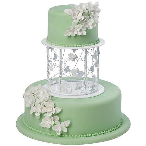 Wedding cake decorating supplies amazon wilton 303 454 vine wire separator set for cakes junglespirit Choice Image