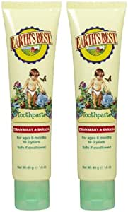 Earth's Best by Jason Toothpaste & Gum Brush, 2 pk