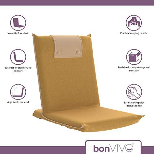 Amazon.com: BonVIVO Easy III - Silla de pie acolchada con ...