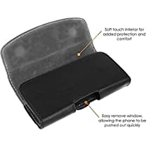 ZTE Grand X Plus Z826 Case Horizontal Soft PU Leather Side Pouch Holster Case Cover with Belt Clip and Magnetic Closure Flap for mobile phone smartphone Pouch