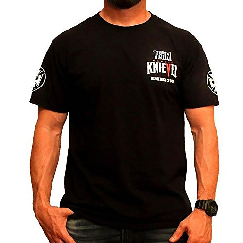 Fight Team T-shirt (Demons Behind Me Inspirational Clothing & Apparel Limited - Team Robbie Knievel Wheelie Tee Shirt)