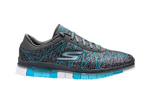 Skechers Femmes Fitness Flex Azul ability Chaussures De Go Grey Pour Urwfp6vUqx