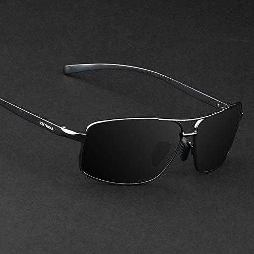 Polarized Drivers Jewelry (JEGOAU 2018 Mirror Men Polarized Sunglasses Tide Aluminum- Sunglasses yurt Driver Mirror Driving Mirror Black (Gray Frame + Gray Lenses)