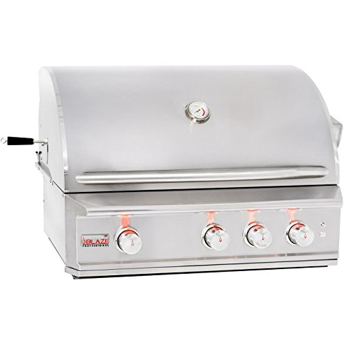 34'' Professional Grill with 3 Burners Fuel Type: Natural Gas by Blaze Grills
