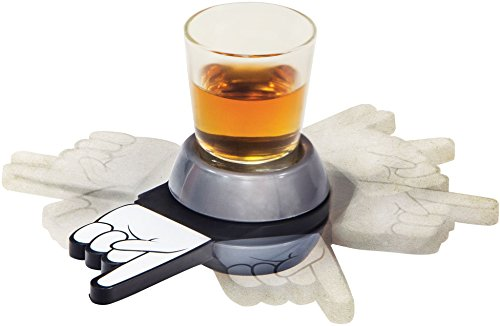 Palais Glassware Shot Spinner Drinking Game - with 1.5 Oz. Shot ()