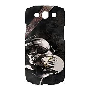 Durable Phone Cases Samsung Galaxy S3 I9300 Cell Phone Case White Claymore Cvddp Plastic Durable Cover