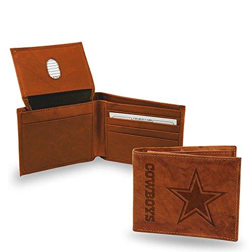 Nfl Team Embossed Billfold (NFL Embossed Billfold Wallet NFL Team: Dallas)