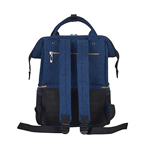 Stillen Mutter Arbeitspumpe Tasche mit K/ühltaschen Baby Mutter Windel Pumptasche f/ür arbeitende M/ütter BigForest Brustpumpen-Rucksack