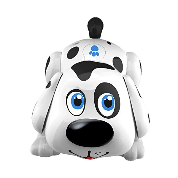 41OVWOihH1L. SS600  - Electronic Pet Dog Harry. Batteries Included. Interactive Smart Puppy Toy Robot Responds to Touch, Walks, Barks, Sings…