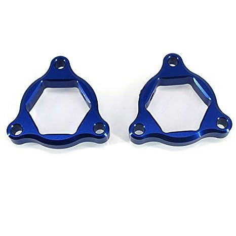 Color : Red 19 mm Accesorios de Bicicletas de suspensi/ón Ajustadores Tenedor de precarga for Honda CRF 1000L CRF1000L Africa Twin ABS//DCT CHENWEI