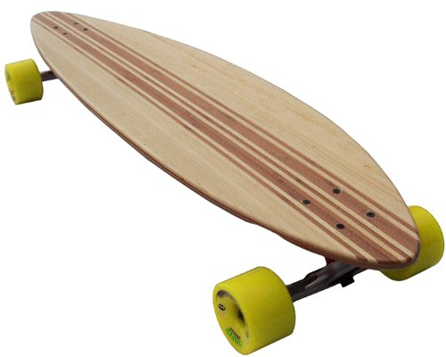 Bam Complete Skateboards (TGM Skateboards BAMBOO INLAY BIGFOOT Longboard Complete RANDAL TRUCKS + BIGFOOT 76MM WHEELS)