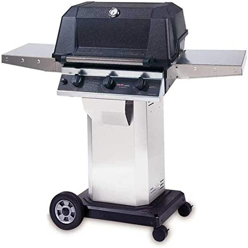 Mhp Gas Grills W3g4dd Propane Gas Grill W Searmagic Grids On Stainless Cart