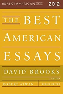 the best american essays the best american series ® david  the best american essays 2012 the best american series ®