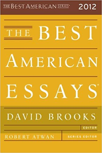 The Best American Essays       Robert Atwan  David Brooks  Miah     The Best American Essays       Robert Atwan  David Brooks  Miah Arnold                 Amazon com  Books