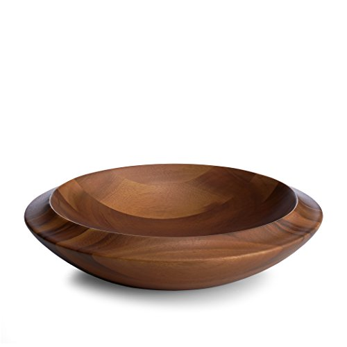 Nambé MT0871 Skye Centerpiece Bowl, Wood