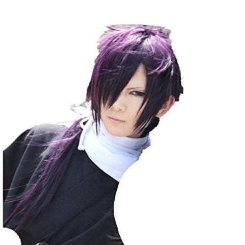 Mister Bear Hakuouki Saitou Hajime Cosplay Costume Wig]()