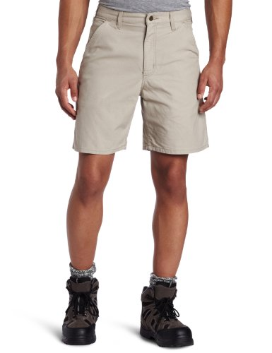 Carhartt Men's Canvas Utility Work Short - Ll Hunting Bean