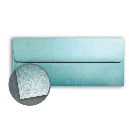 - ASPIRE Petallics Starburst Lichen Envelopes - No. 10 Square Flap (4 1/8 x 9 1/2) 80 lb Text Metallic C/2S 500 per Box